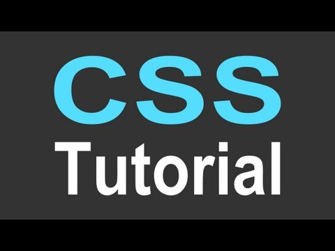 CSS Tutorial for Beginners - part 3 of 4