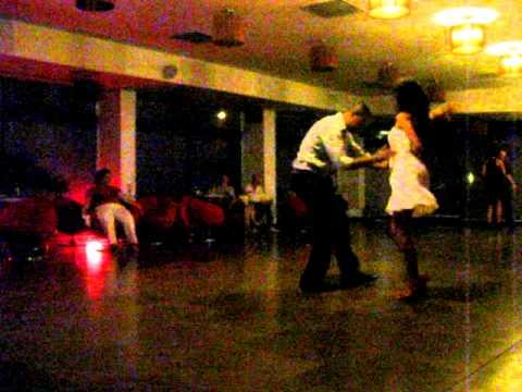 Simona (Salsa Factory) & Tito Ortos cha cha social dance @ RO Salsa fest