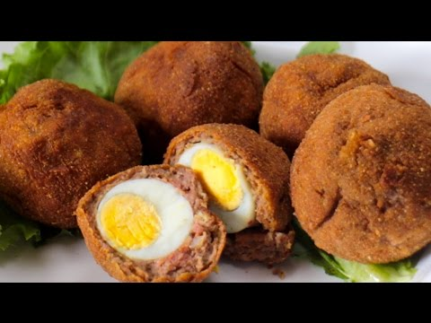 SUYA SCOTCH EGGS RECIPE!