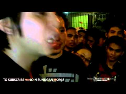 "SUNUGAN - Apoc vs Sayadd  ""SECRET BATTLE"" UNFIN BIz"