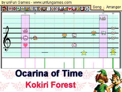 Legend of Zelda Super Epic Medley- 25th Anniversary Tribute Made in Mario Paint Composer