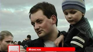 Звезда памяти на День победы в Житомире