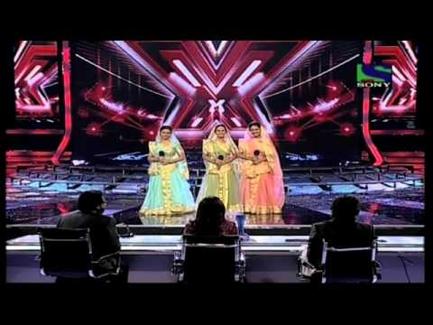 Sajda Sisters performing Piya Tose Naina Lage Re- X Factor India - Episode 27 - 13th Aug 2011