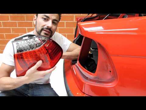 BMW LED Tail Light Installation DIY - Stealth Auto Tech Tips