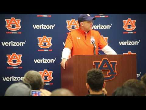 Gus Malzahn Press Conference Arkansas