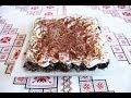 Чернослив с орехами под сметанным кремом Десерт без выпечки Чорнослив з горіхами та вершками десерты