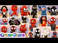 LEGO Marvel Super Heroes 2 All 20 Spider-Man Costumes