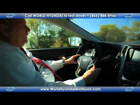 2012 Hyundai Azera Test Drive and Walk Around First Look from World Hyundai Matteson