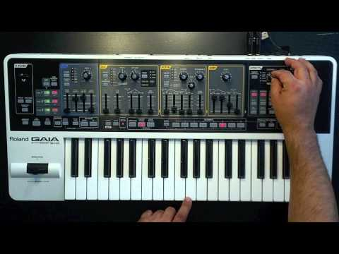 Roland Gaia SH-01 Preset Patches Part 1