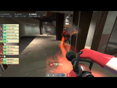 VanillaTV - Epsilon vs TCM - ETF2L Season 12 Grand Final - Admirable and djc - Badlands [Map3]