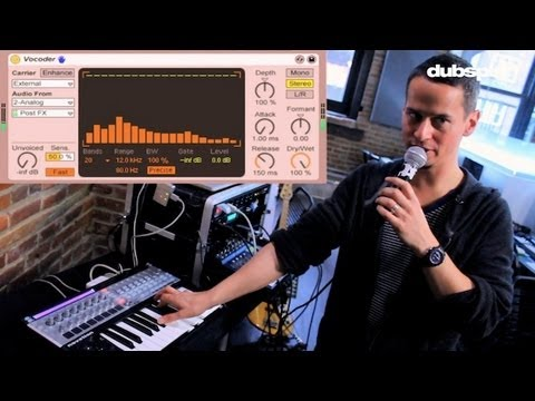 Ableton Live Tutorial: Vocal Processing Effects   Live Performance Tips