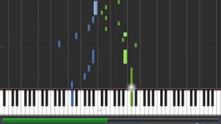 Synthesia - Wind Crest ~The Three Trails~ - FFX-2 Piano collections