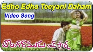 Edho Edho Teeyani Daham Video Song - Donga Ramudu & Party