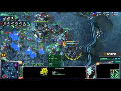 StarCraft 2 - [T] 2 Rax FE TvP - Strategy