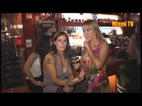 Jenn Martinello Lost Interview 2008 with Miami TV