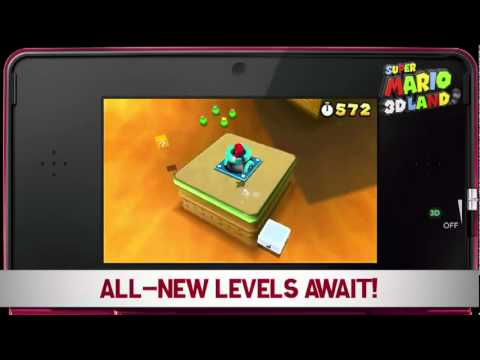 Super Mario 3D Land October Trailer
