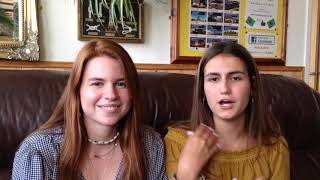 Blanca and Katerina