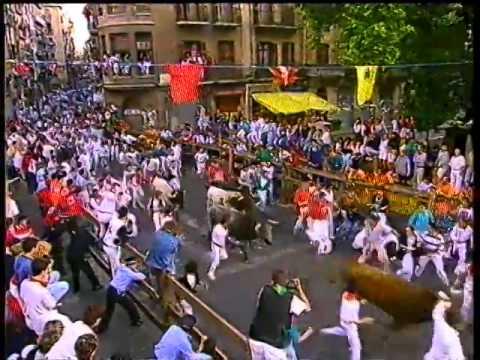 Encierro San Fermín   14 de julio de 1992 480p