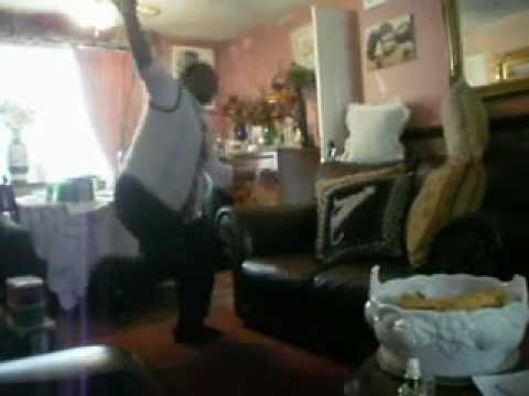Jamaican Mom Dancing