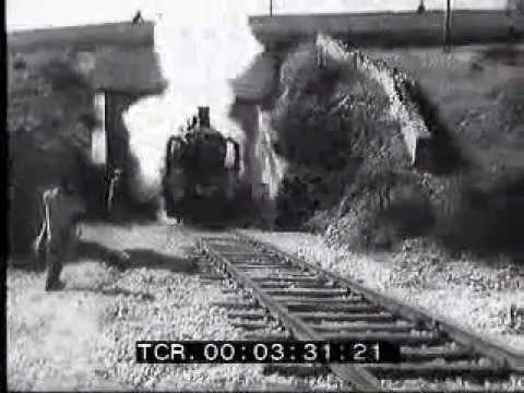 Ricostruzione nel 1953 della tratta ferroviaria Vairano-Isernia