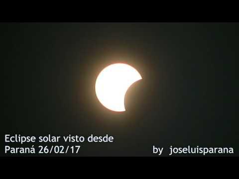 Así vieron los paranaenses al eclipse solar: Video de un lector de Elonce.com