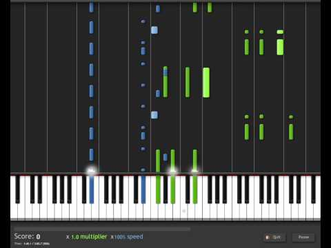 Synthesia Final Fantasy VIII Liberti Fatali