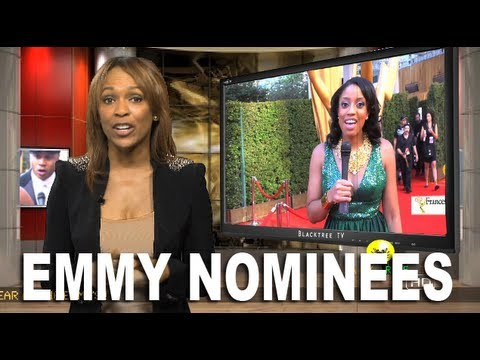 Emmy Awards 2012 Pre Coverage on BlackTree TV  in HD