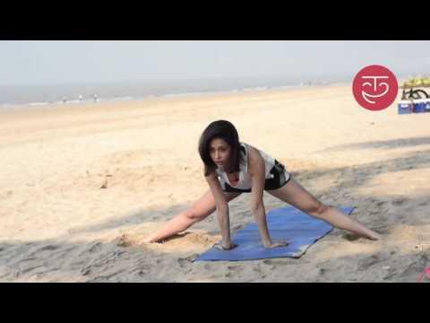 Yoga by the beach with Nushrat Bharucha - UCjCgbZQbJvVXP13WMScdrRg