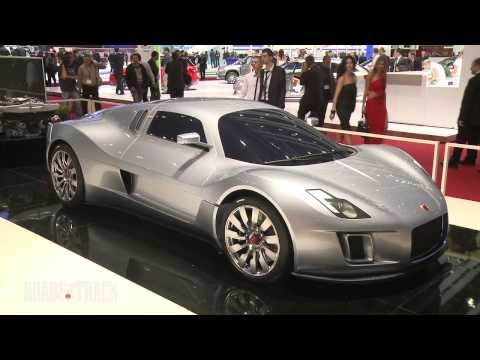 2012 Gumpert Tornante @ 2011 Geneva Auto Show