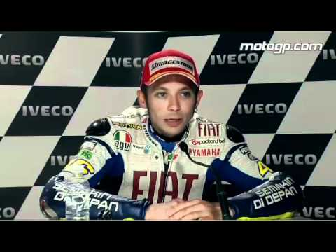 Valentino Rossi Interview After The Phillip Island Gp