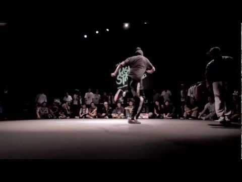 LAST ONE STANDS 2012 HIP-HOP FINAL: JUNIOR BOOGIE (Montreal) VS HURRIKANE (New York)
