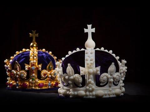 3D printing Henry VIII's crown