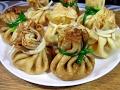 Блинные мешочки с грибами и соусом / Вкусные, нежные, простой пошаговый рецепт