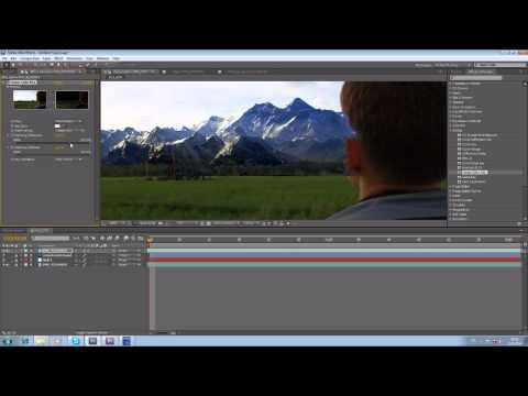 After Effects Tutorial:2: Matte Painting and Tracking (by Nipan)