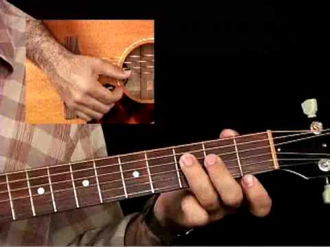 How to Play Acoustic Guitar - Lessons for Beginners - Strumming Chords Pt. 1
