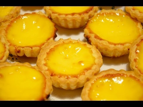 Puff pastry egg tarts, 酥皮蛋撻