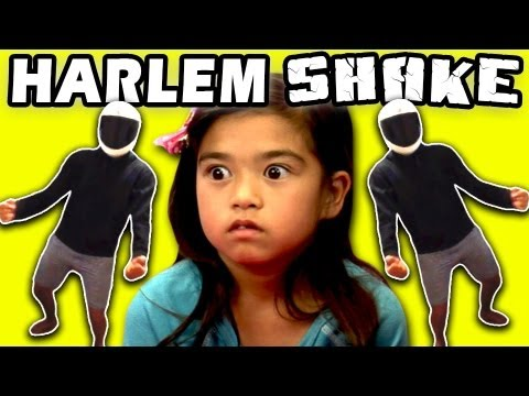 KIDS REACT TO HARLEM SHAKE