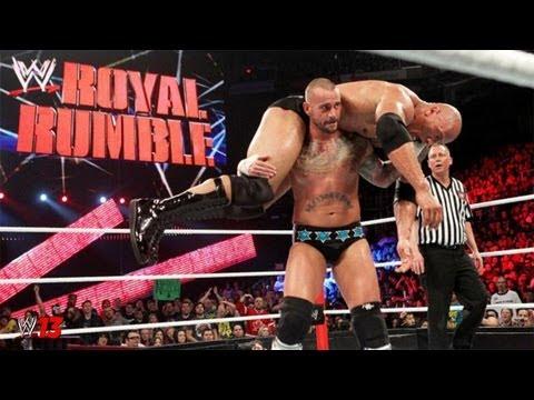 The Rock vs CM Punk Royal Rumble 2013 WWE Championship ( WWE '13 Preview )