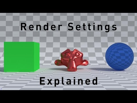 Cycles Render Settings Explained: Sampling and Light Paths
