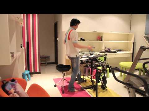 PSY - GANGNAM STYLE (강남스타일) drum cover by Bugyean