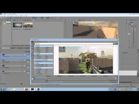 Sony Vegas Pro 10: Call of Duty Montage Puzzle Effect
