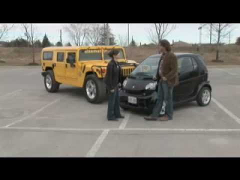 The New Driver-s Seat - Smart Car vs. Hummer