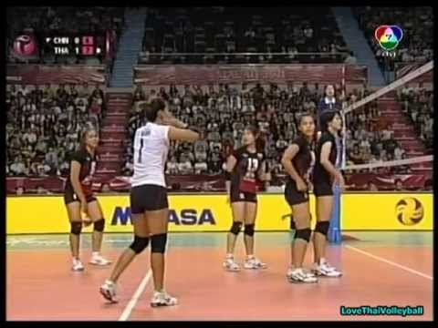2011 FIVB World Grand Prix - THAILAND vs CHINA (Set 2)