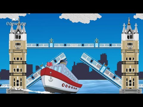 Edewcate english rhymes - London bridge is falling down nursery rhyme