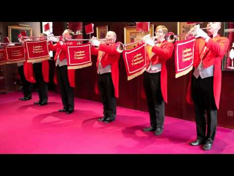 London Fanfare Trumpets - 'God Save The Queen, Gordon Jacob Pt1' - 7 Piece Fanfare Team