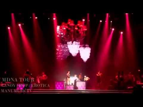 Madonna Candy Shop   Erotica MDNA TOUR blu ray fanmade HD -NmtgbcV5IrU