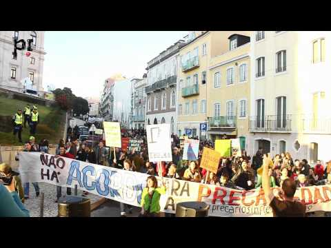 Precários Inflexíveis na Manifestação de 21 de janeiro