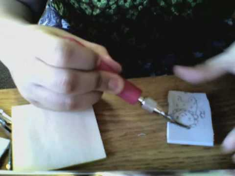 Handmade rubber stamps 101