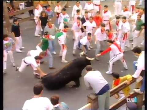 Encierro de San Fermín   11 de julio de 1994