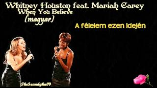 Mariah Carey ft. Whitney Houston -When You Believe (magyar)